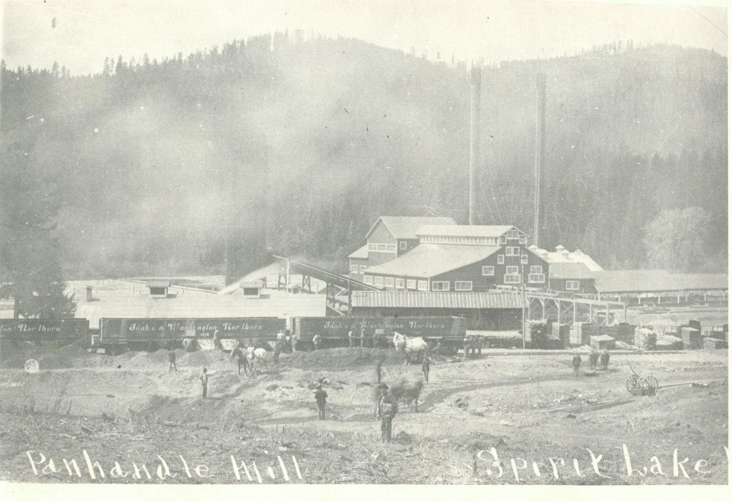 Legend and History of Spirit Lake, Idaho